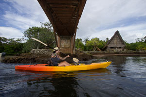 Kayaking Yap