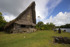 Yap traditional men's house