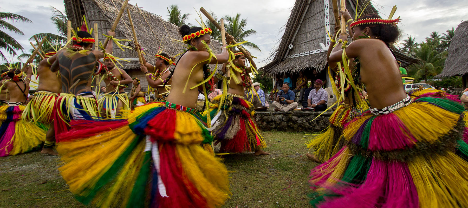 traditional yapese warrior dance