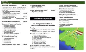 2016 Yap Day Program