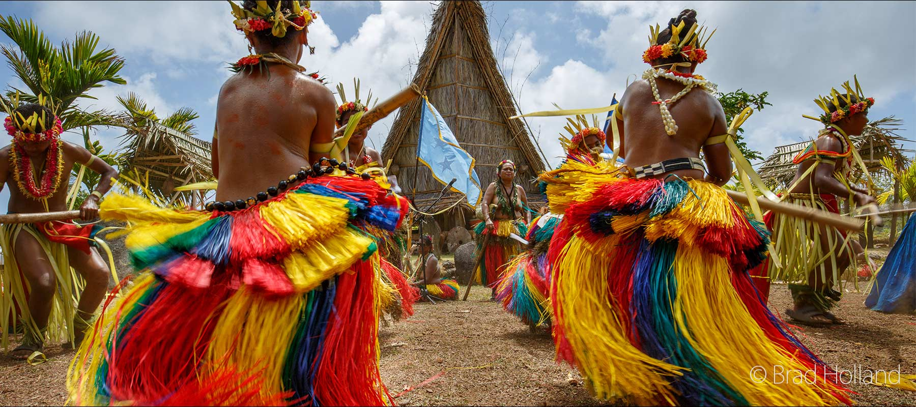 Yap Day Bamboo Stick Dance