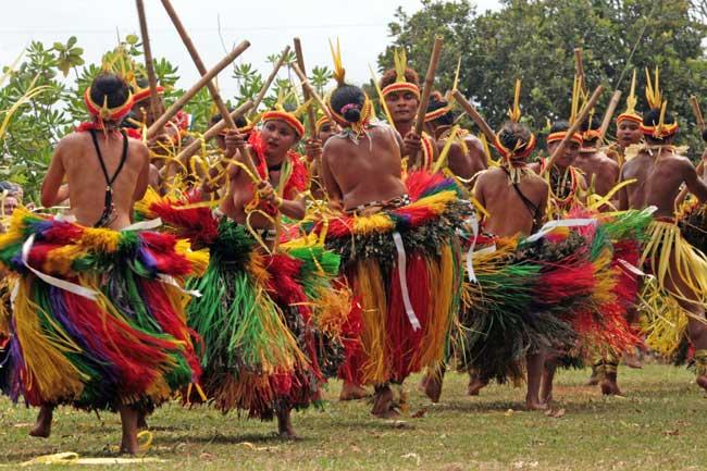 Yap taditional culture festival dance